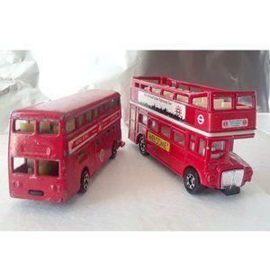2 kind of Mini Antique Toy Bus